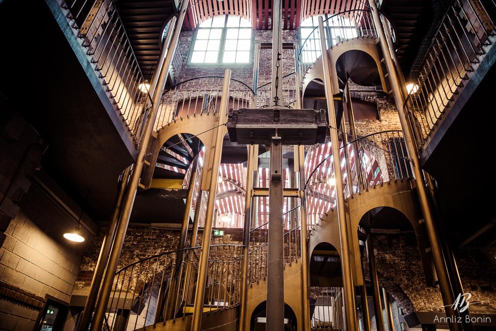 L'intérieur magnifique de l'ENSA de Rouen.