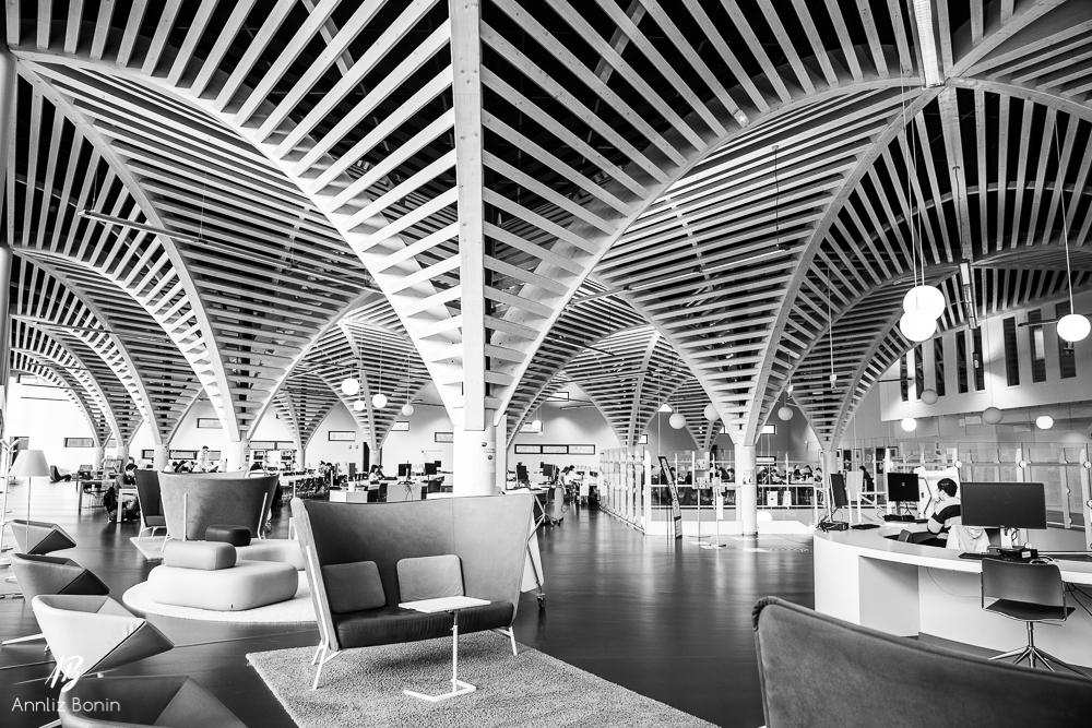Bibliothèque universitaire de Sciences, Caen.