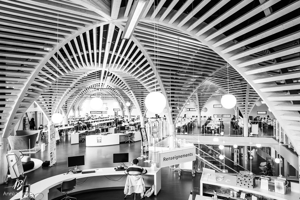Bibliothèque université de Sciences Caen